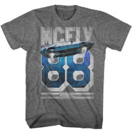 Back To The Future 1985 Comedy Action Movie Film Mcfly 88 Adult T-Shirt Tee