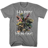 Monster Hunter Fantasy Action Role-Playing Video Game Happy Hunting T-Shirt Tee