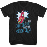 Ace Attorney Video Game Let The Parrot Take The Stand Adult T-Shirt Tee