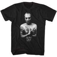 Silence Of The Lambs Horror Film Hannibal Lecter Glam Shot Adult T-Shirt Tee