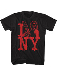 Escape From New York Isnakeny Black Adult T-Shirt Tee
