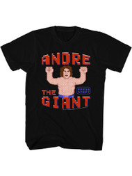 Andre The Giant Eighth Wonder Of The World Adult T-Shirt Tee Wrestler 80s Wreck it