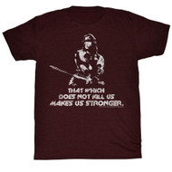 Conan The Barbarian Adventure Film That Which Does Not Kill Us Adult T-Shirt Tee