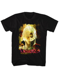 Devil May Cry Video Game Action Adventure Combat Grunge Stare Adult T-Shirt Tee