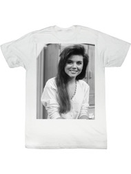 Saved By The Bell 1980's Sitcom Kelly Kapow White Adult T-Shirt Tee