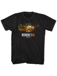 Resident Evil Horror Science Fiction Video Game Biohazard Adult T-Shirt Tee