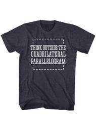 American Classics Outside The Box Navy Heather Adult T-Shirt Tee