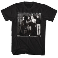 Breakfast Club 1985 Comedy Drama Group Cast Adult T-Shirt Locker 80s Movie