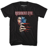 Resident Evil Horror Film Video Game 20Th Anniversary Zombies Adult T-Shirt Tee