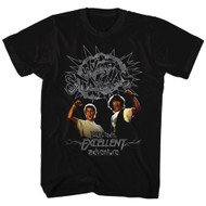 Bill & Ted's Adventure Teen Movie Wyld Stallyns  Adult T-Shirt Tee