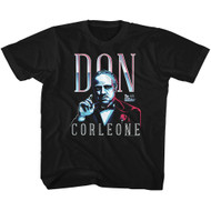 Godfather 1970s Mob Crime Drama Movie Don Corleone Youth T-Shirt Tee