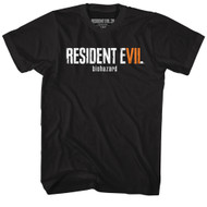 Resident Evil Horror Science Fiction Film Video Game Biohazard Adult T-Shirt Tee
