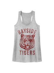 Saved By The Bell '90 High Teen Comedy Sitcom Bayside Tigers Womens Tank Top Tee