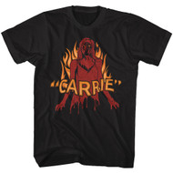 Carrie Classic 1976 MGM Supernatural Horror Film Movie Blood & Fire T-Shirt Tee