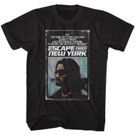 Escape From New York Action Thriller Indie Film Movie Old VHS Case T-Shirt Tee