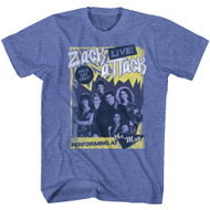 Saved By The Bell 1980s Sitcom 2 Nights Only Zack Attack Live at the Max T-Shirt