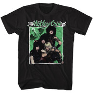 Motley Crue 1981 American Heavy Metal Rock Band The Boys Black Adult T-Shirt Tee