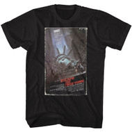 Escape From New York Action Thriller Indie Film Movie VHS Home Video T-Shirt Tee