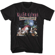 Killer Klowns from Outer Space 1988 Fantasy Movie Klowns In Space Adult T-Shirt