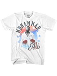 Muhammad Ali 1960s Greatest Boxer Of All Time Alirwb White Adult T-Shirt Tee
