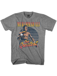 Muhammad Ali 1960s Greatest Boxer Of All Time Greatest Gradients Adult T-Shirt