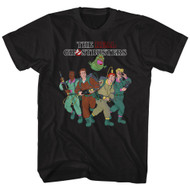 The Real Ghostbusters Animated TV Series Whole Crew Adult T-Shirt Tee