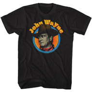 John Wayne American Legend Hollywood Icon Actor Profile Distressed T-Shirt Tee