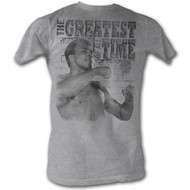 Muhammad Ali 1960s Greatest Boxer Of All Time Training Stance Adult T-Shirt Tee