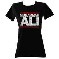 Muhammad Ali 1960s GOAT Distressed ALI Juniors T-Shirt Tee