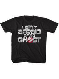 The Real Ghostbusters Animated TV Series Ain't Afraid Toddler T-Shirt Tee