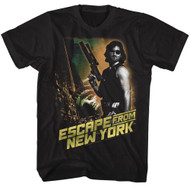 Escape From New York Escape From New York Black Adult T-Shirt Tee