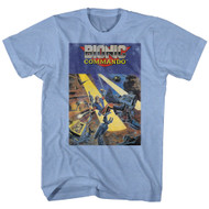 Bionic Commando Arcade Video Game Mechanical Robot Front Cover Adult T-Shirt Tee