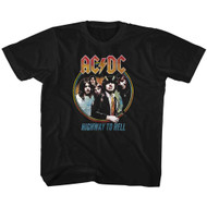 AC/DC Hard Rock Band Music Group Highway To Hell Little Boys Toddler T-Shirt Tee