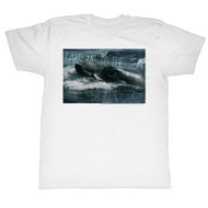 Jaws 1970's Shark Thriller Spielberg Movie Amity Island Take Me  Adult T-Shirt