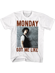 Bill & Ted's Excellent Adventure Teen Movie Adult TShirt Monday Got Me