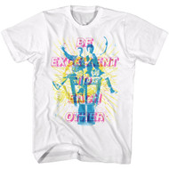 Bill & Ted's Adventure Teen Movie Be Excellent Adult T-Shirt Tee Booth