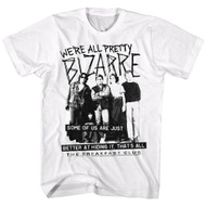 Breakfast Club 1980's Teen Brat Pack Movie We'Re All Bizarre Adult T-Shirt Tee