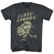 Flash Gordon 1930's Comic Strip Vintage Style in Defense Adult T-Shirt Tee