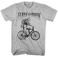 Flash Gordon 1930's Comic Strip Vintage Style Bicycle Search For Adult T-shirt