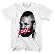 Mr. T Actor And Wrestler Fool Bleep Adult T-Shirt Tee