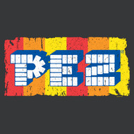 PEZ Brick Candy With Dispensers Pop Culture Logo Adult T-Shirt Tee
