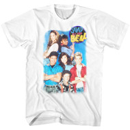 Saved By The Bell 1980's Sitcom Group Shot Best Friends Forever T-Shirt Tee