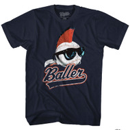 Major League Baller Navy Adult T-Shirt Tee