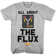 Back To The Future 1985 Comedy Action Movie�All About the Flux Adult T-Shirt Tee