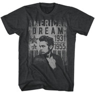 James Dean 1950's American Dream Heartthrob Icon Actor Rebel Adult T-Shirt