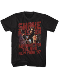 Escape From New York Snakeyp Black Adult T-Shirt Tee
