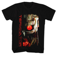 Terminator 1980's SciFi Action Movie Red EyeCyborg Assassin Arnold Adult T-Shirt