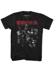 Resident Evil Horror Film Video Game Machine Will Save Life Adult T-Shirt Tee