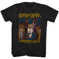 Twisted Sister 1972 American Heavy Metal Band 1985 Stay Hungry Tour T-Shirt Tee