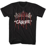 Carrie Classic 1976 MGM Horror Film Movie Bloody Blood Queen Crown Tiara T-Shirt